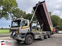 tipper truck Ginaf M 4446 TS 8x8 kipper Euro 3 handgeschakeld 2001
