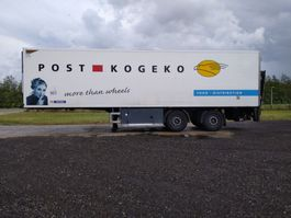 refrigerated semi trailer Pacton HZO 32  2as city 11.00 meter Trailer 8x op stok 2007