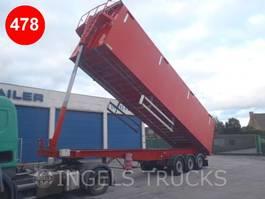 tipper semi trailer Samro 65M³ tipper semi trailer 2009