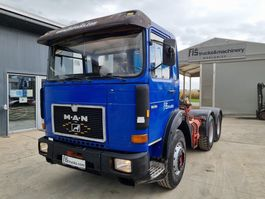cab over engine MAN 26.361 6x4 tractor unit 1987