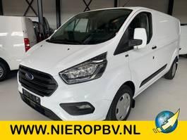 closed lcv Ford transit custom l2 130pk automaat airco navi nieuw 2021
