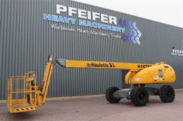 telescopic boom lift wheeled Haulotte H16TPX Diesel, 4x4 Drive, 16m Working Height, 12.3 2013