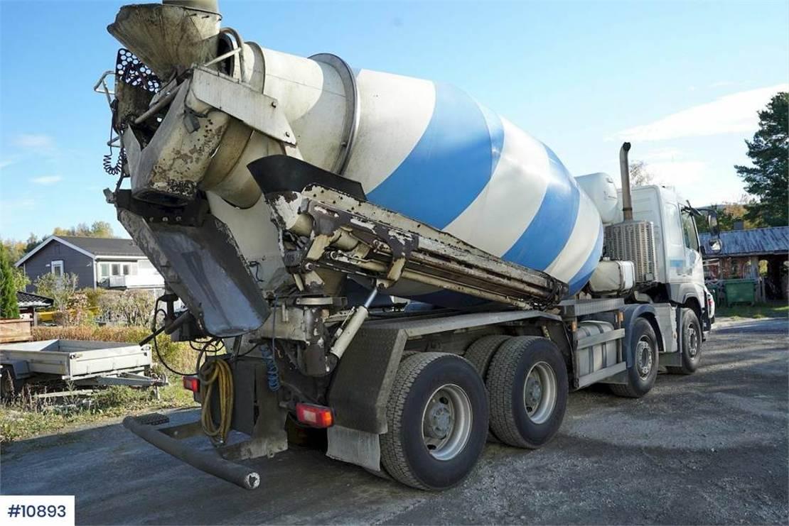 Betonmischer-LKW Volvo FMX 500 8x4 concrete truck w / Intermix build and 2015