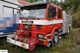 other construction machine Scania 82M 4x2 Fire Truck. Power tool. Double cabin . Low 1983