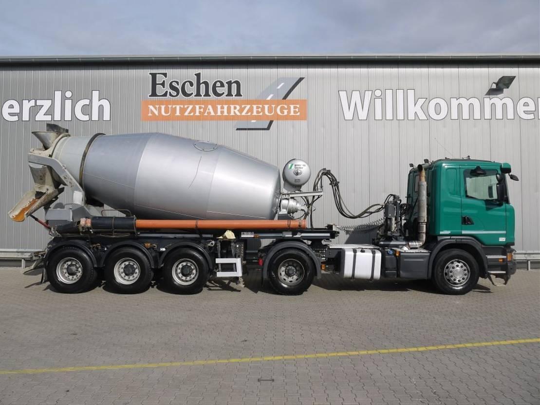 Betonmischer-LKW Scania G 490 LA Euro 6, Stetter 10m³ 2015