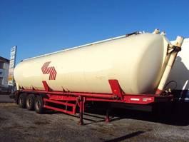 feed semi trailer SPITZER SK 2459 3 Achs Kippsilo 59m³ Alu Luft BPW 1991