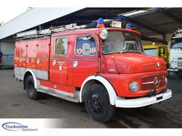 fire truck Mercedes-Benz 1113 Double cabine, 2400 Liter water 1969