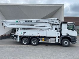 concrete pump truck Mercedes-Benz 2840 6x4 -Euro 3 - S36X  Schwing Concrete Pump - NEW