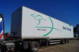 closed box semi trailer Talson 3-assige oplegger