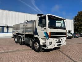 tank truck DAF CF 85 WATERTANK /MILK 14000 LITER ! RVS 6X2 MANUAL E2 1998