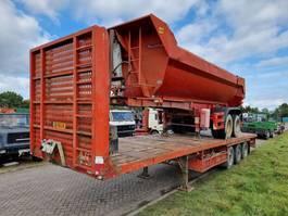 flatbed semi trailer Kaiser SAF - Rongen 2003