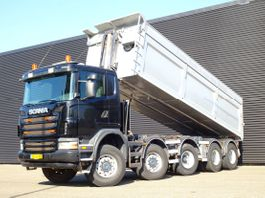 tipper truck Scania G440 10X8 TIPPER / MANUAL GEARBOX / STEEL SUSPENSION 2011