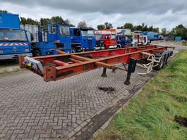 container chassis semi trailer Kaiser Steelspring - Drumbrakes 2005