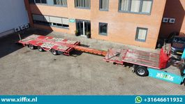 semi lowloader semi trailer Meusburger 3-ass. Uitschuifbare MEGA semi dieplader // naloop gestuurd // wielkuipen 2012