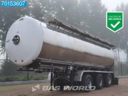 tank semi trailer semi trailer Magyar SR 18320 3 axles 34.000 Ltr Liftachse 2x Lenkachse Milch 1 Comp. 2011