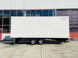 closed box trailer Möslein TKO 105 Schwebheim Tandem- Möbel Koffer- Anhänger-- Neuwertig -- 2020