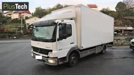 box truck Mercedes-Benz Atego 818 L 2008