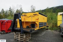 Other truck part ATC 100S Asphalt Thermocontainer on hook frame 2011