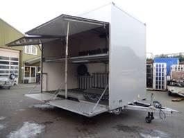 closed box car trailer VAN Weel VW3500L 2 As Tandemas Gesloten - Wipkar Gesloten - Fietsen Aanhangw... 2009