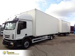 refrigerated truck Iveco EuroCargo 120 E28 + Euro 5 + Thermo King V-700 MAX + Manual + lift 2009