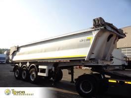 tipper semi trailer Benalu BEN + 24 CUB + Piston BROKEN 2013