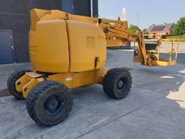 telescopic boom lift wheeled JLG 450 AJ SII 2008