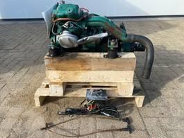 industrial engine Volvo Penta MD5A 7.5 PK Marine Diesel motor met keerkoppeling en schroef