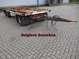 container chassis trailer ATM 3 As Vrachtwagen Aanhangwagen T.b.v. laadbakken, Belgisch kenteken 1992