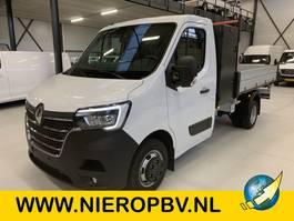 drop side lcv Renault Nieuw 3 Zijdige Kipper Airco Navi 3500KG Trekhaak Cruisecontrol 165PK 2021
