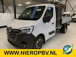 Pritschenwagen offen Renault Nieuw 3 Zijdige Kipper Airco Navi 3500KG Trekhaak Cruisecontrol 165PK 2021