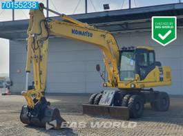 wheeled excavator Komatsu PW180 -7E0 ALL FUNCTIONS - CE/EPA CERTIFIED 2011