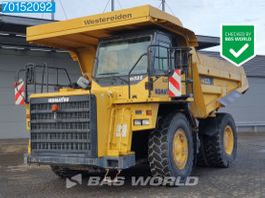 wheel dump truck Komatsu HD325-7 GERMAN DEALER MACHINE 2008