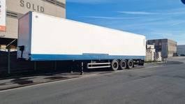 closed box semi trailer Lecitrailer ISOTHERME