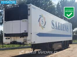 refrigerated semi trailer KAESSBOHRER Carrier Vector 1850 3 axles Palettenkasten Trennwand 2007