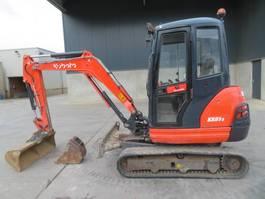 mini digger crawler Kubota KX 61-3 2013