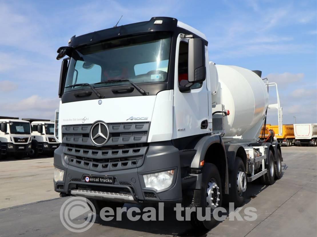 Betonmischer-LKW Mercedes-Benz 2018  AROCS 4142 /AC-E6-8X4-CONCTERE MIXER 12m³ 2018