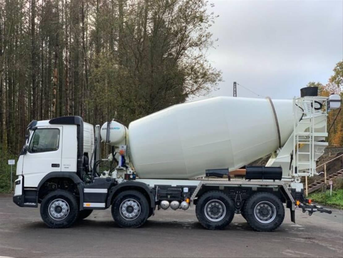 Betonmischer-LKW Volvo 430 8x4 / EuroMix MTP 10m³ L
