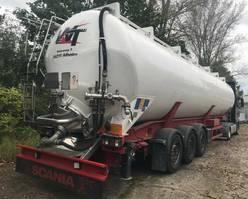 feed semi trailer Feldbinder 66.3 KippSilo, 66000 Liter, 6 Kammern 2014
