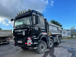 tipper truck MAN TGS 35 8x8 Euro 6 Muldenkipper Hydr. Wand 2016