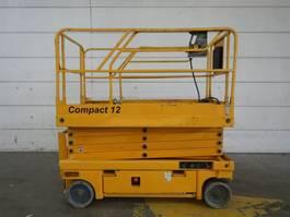 scissor lift wheeld Haulotte Compact 12 2008