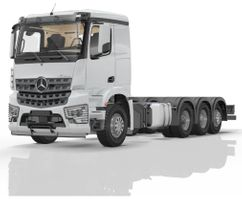 crane truck Mercedes-Benz 3252 L 8x4/4 Classicspace cabin 2021