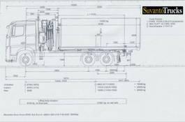 crane truck Mercedes-Benz 2545 L 6x2 Classicspace cabin 2021
