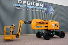 articulated boom lift wheeled Haulotte HA16RTJPRO NEW, Valid inspection, *Guarantee! Dies 2021