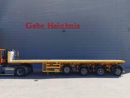 flatbed semi trailer Nooteboom OVB-73-04 Powersteering Liftaxle Ballast Trailer! 2001