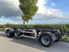 container chassis trailer Burg 30 ton widespread container aanhanger APK 2022 2012
