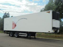 refrigerated semi trailer Pacton 2-Axle / 10.95 M / Steering / Carrier Vector 1850 / Silent 2007