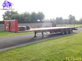 flatbed semi trailer Samro Flatbed 2000