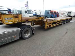 lowloader semi trailer Faymonville SPZ-4WAAX,telemax,blade carrier,2xuitschuifbaar, 4 assen gestuurd 2005