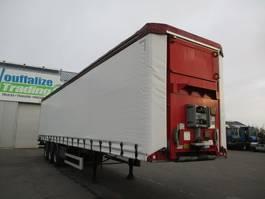 sliding curtain semi trailer Fruehauf lifting roof 2011