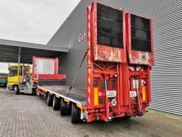 semi lowloader semi trailer Faymonville Meusburger MPG-4 Powersteering Ramps! 2005